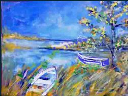 Cape Cod: Painting by Lily Azerad-Goldman