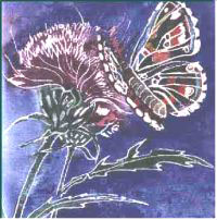 Butterfly- Painting by Lily Azerad-Goldman